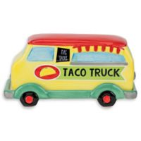 Boston Warehouse Novelty Taco Truck Butter Dish