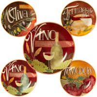 Certified International Bella Vita 5-Piece Pasta Bowl Set
