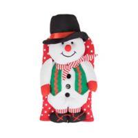 Snowman Friend Oven Mitt