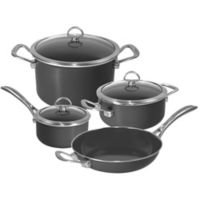 Chantal® Copper Fusion® Carbon Steel 7-Piece Cookware Set in Oynx
