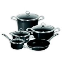 Chantal® Copper Fusion® Carbon Steel 9-Piece Cookware Set in Oynx