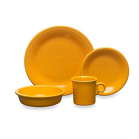 Fiesta® Marigold Dinnerware and Serveware - Bed Bath & Beyond