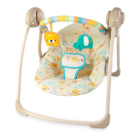 Bright Starts™ Dots & Spots Safari Portable Swing