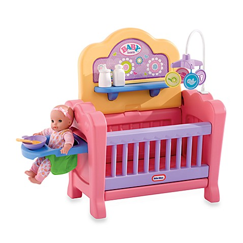Little Tikes 174 4 In 1 Baby Born Nursery Buybuy Baby