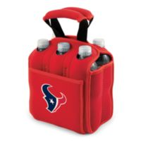 Picnic Time® Houston Texans Six-Pack Cooler Tote in Red