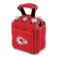 Picnic Time® Kansas City Chiefs Six-Pack Cooler Tote in Red