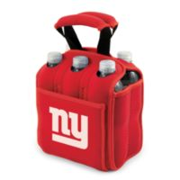 Picnic Time® New York Giants Six-Pack Cooler Tote in Red