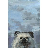 Marmont Hill 'What up Raccoon' 18-Inch x 12-Inch Canvas Wall Art