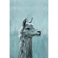 Marmont Hill Lama Sérieux 20-Inch x 30-Inch Canvas Wall Art