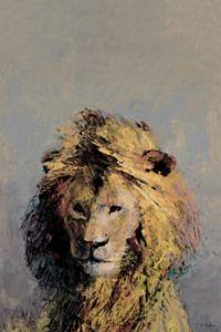 Marmont Hill Retrato de Leon 20-Inch x 30-Inch Canvas Wall Art