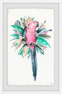 Marmont Hill Tropical Bird II 24-Inch x 16-Inch Framed Wall Art