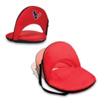 Picnic Time® Houston Texans Oniva Portable Reclining Seat in Red