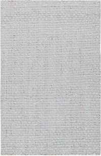 Surya Jute Woven 2'6 x 4' Accent Rug in Grey