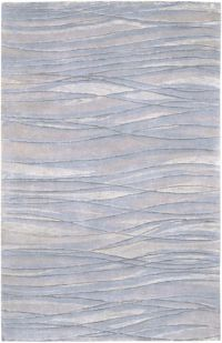 Surya Shibui 9' x 13' Hand-Knotted Area Rug in Blue/Neutral