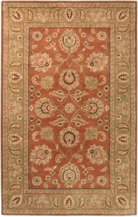 Surya Crowne 4' x 6' Hand Tufted Area Rug in Brown