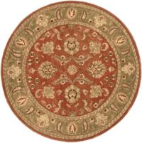 Surya Crowne 8' x 8' Hand Tufted Star Area Rug in Brown