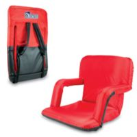 Picnic Time Portable Ventura Reclining Seat - New England Patriots (Red)