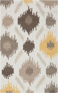 Surya Brentwood 2'6 x 4' Area Rug in Yellow/Brown