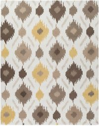 Surya Brentwood 8' x 10' Area Rug in Yellow/Brown