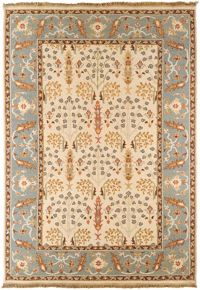 Surya Sonoma Arts and Crafts 6' x 9' Area Rug in Khaki