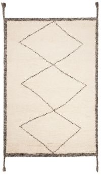 Safavieh Casablanca Cameron 4' x 6' Area Rug in Ivory/Charcoal