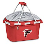 Picnic Time® Atlanta Falcons Metro Insulated Basket in Red