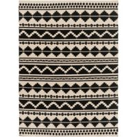 Surya Frontier Southwest 8' x 11' Area Rug in Taupe/Black