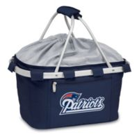 Picnic Time® New England Patriot Metro Insulated Basket in Navy Blue