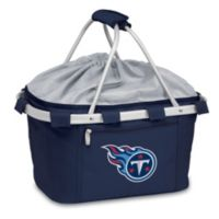 Picnic Time® Tennessee Titans Metro Insulated Basket in Navy Blue
