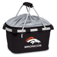 Picnic Time® Denver Broncos Metro Insulated Basket in Black