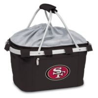 Picnic Time® San Francisco 49ers Metro Insulated Basket in Black