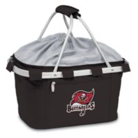 Picnic Time® Tampa Bay Buccaneers Metro Insulated Basket in Black