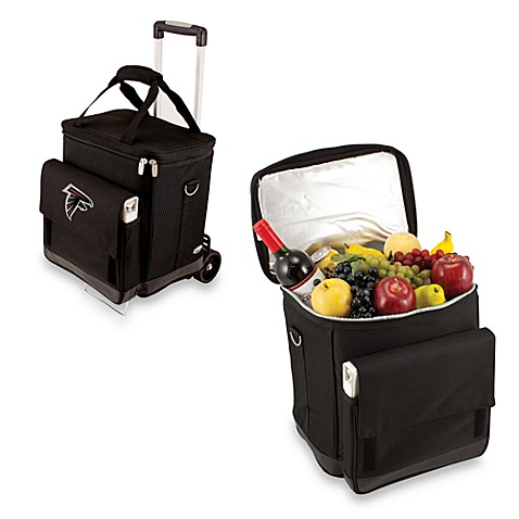 Picnic Time® Cellar with Trolley Insulated Cooler in Atlanta Falcons