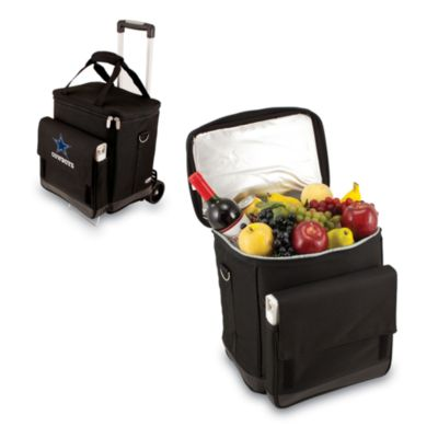 Picnic Time® Dallas Cowboys Cellar With Trolley Insulated Cooler