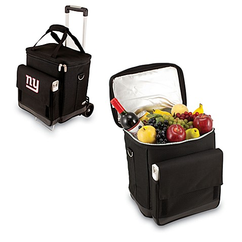 Picnic Time® Cellar with Trolley Insulated Cooler in New York Giants