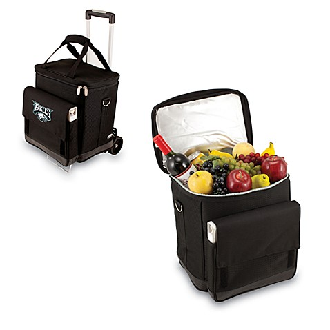 Picnic Time® Cellar with Trolley Insulated Cooler in Philadelphia Eagles