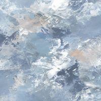 Marmont Hill Le Ciel des Cieux 48-Inch Square Canvas Wall Art