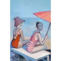 Marmont Hill Beach Elegance 8-Inch x 12-Inch Canvas Wall Art