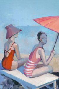 Marmont Hill Beach Elegance 12-Inch x 18-Inch Canvas Wall Art