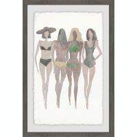 Marmont Hill Beach II 16-Inch x 24-Inch Framed Wall Art