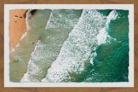 Marmont Hill Crashing Waves 24-Inch x 16-Inch Framed Wall Art