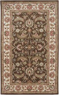 Surya Caesar Classic 4' x 6' Area Rug in Dark Brown