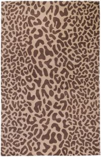 Surya Athena Animal Print 9' x 12' Area Rug in Brown