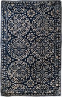 Surya Smithsonian 2' x 3' Hand-Tufted Area Rug in Blue/Grey