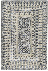 Surya Smithsonian 2' x 3' Hand-Tufted Area Rug in Navy/Beige