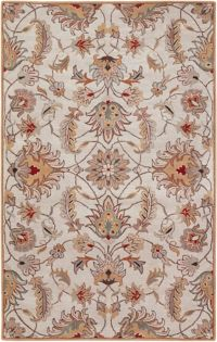 Surya Caesar 7'6 x 9'6 Hand-Tufted Area Rug in Pink/Brown