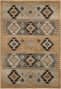 Surya Paramount Southwest 2' x 3' Accent Rug in Camel