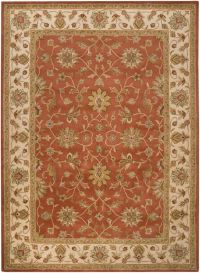 Surya Crowne Classic 8' x 11' Area Rug in Brown/Neutral