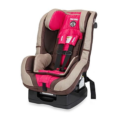 recaro proride convertible car seat manual