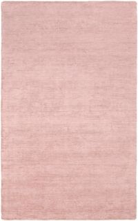 Surya Pure 4' x 6' Hand-Loomed Area Rug in Pink/Yellow